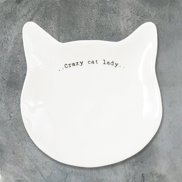 Crazy Cat Lady Dish