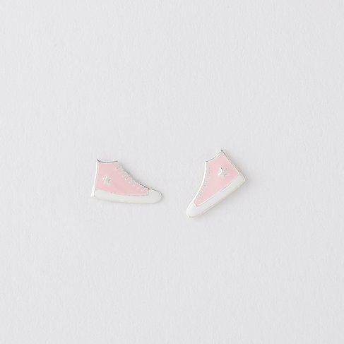 Pink Converse Earrings
