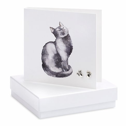 Cat Earring Card