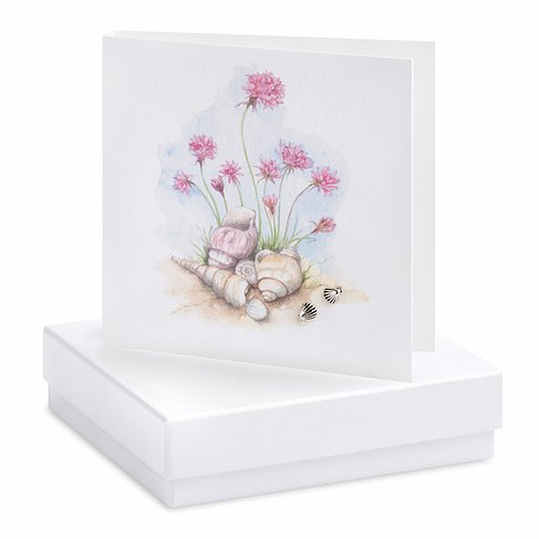 Shell Earring Card