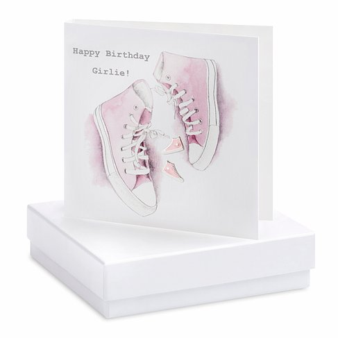 Converse Earring Card
