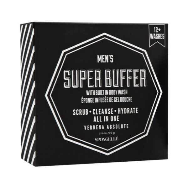 Spongellé Men's Super Buffer
