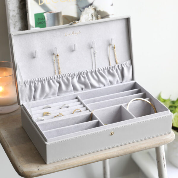 Grey Jewellery Box