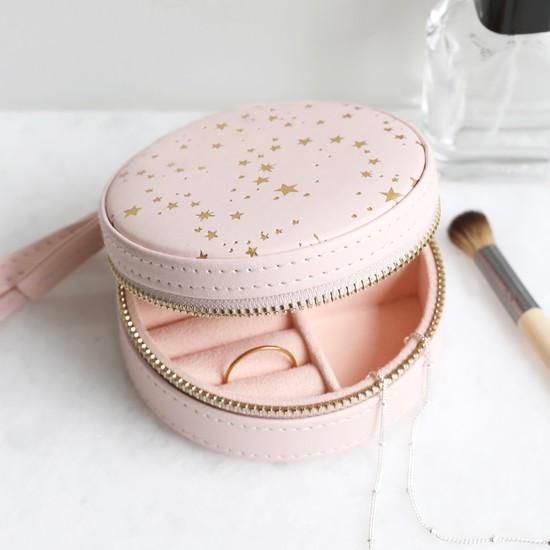 Pink Jewellery Case