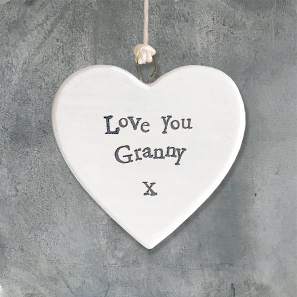 Granny Ceramic Heart