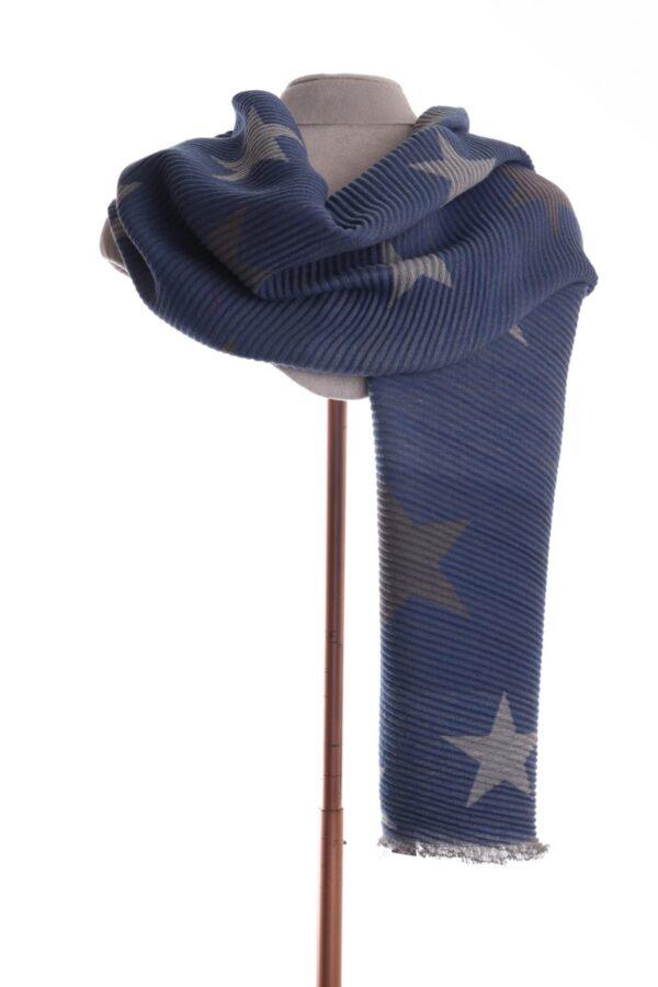 Blue Star Scarf