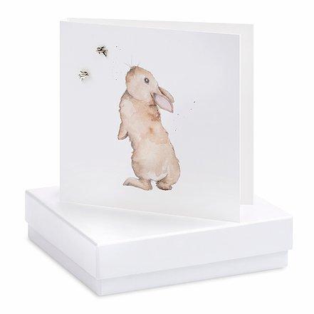 Rabbit Square Card