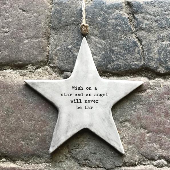 Decorative Slogan Star