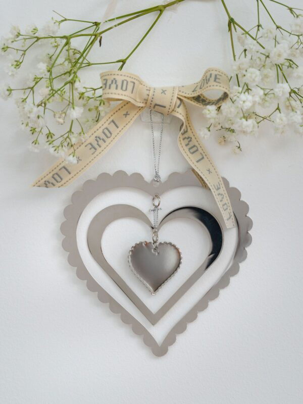 Silver Heart Mobile