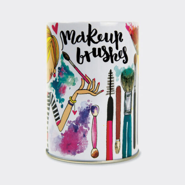Makeup Brushes Pot