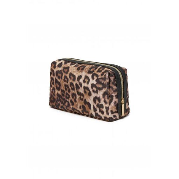 Leopard Print Toiletry Bag