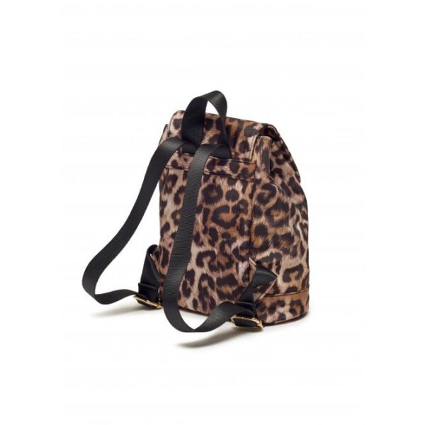 Mini Leopard Print Backpack